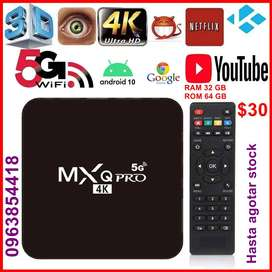 TV Box, MXQ PRO Android 10.1 a $30