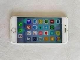iPhone 6, 64 GB, Liberado, Color Plata, Con Accesorios.