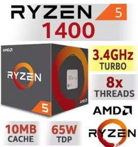 Vendo Ryzen 1400 AMD en Excelentes Condiciones