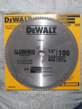 Disco sierra para corte de aluminio de 12 pulgadas con 100 dientes