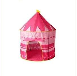 Carpa castillo para niñas y niños