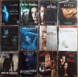 77 peliculas originales en dvd