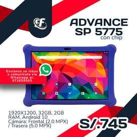 Tablet Advance SP 5775 con chip