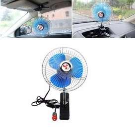 Ventilador giratorio 12 voltios para carro