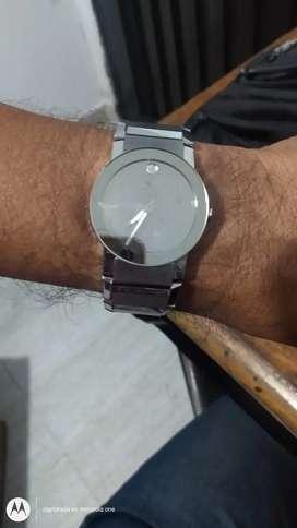 Fino reloj movado safiro mens suizo original garantizado gangazo