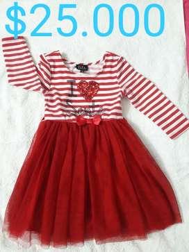 Hermosos vestidos de niña