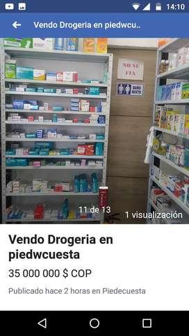 Vendo droguería