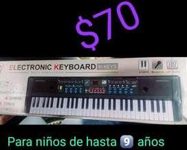 Teclado Piano para Niños hasta 8 Años