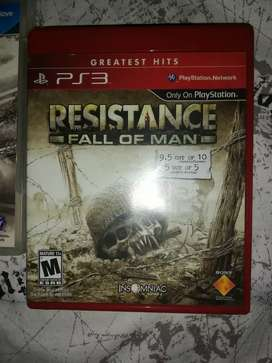 RESISTANCE PARA PS3