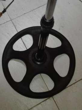 accesorios para ventilador parante y rack de pared o mesa