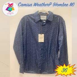 Camisa Weather P Talla M