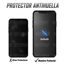 Vidrio Screen Templado Protector De Pantalla Cerámico NanoGlass Mate celular smartphone iPhone XS Antihuella flexible