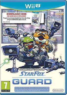 juego wii u STARFOX GUARD usado