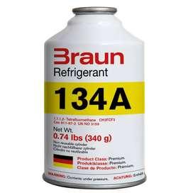 Gas refrigerante R134a BRAUN Refrigerant (30 Uds./caja)