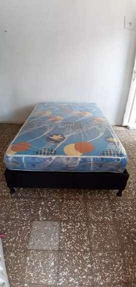 Base cama colchón
