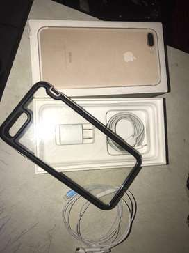 Vendo Iphone 7 Plus o cambio, es de 128gb liberado express, detalle explico por imbox!