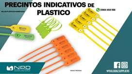 PRECINTOS INDICATIVOS SELLOS DE SEGURIDAD PLASTICOS CONTENEDORES NUMERADOS BODEGAS TRANSPORTE SEGURO ANTI ROBO URTO