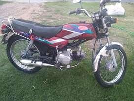 URGENTE! VENDO MOTO KONISA MOTOR HONDA 100 cc