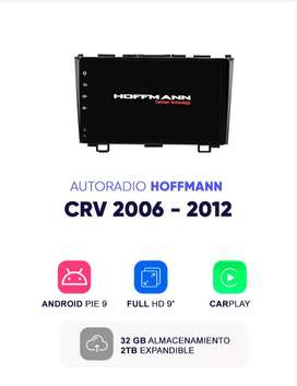 Autoradio Android 9.1 Homologado Honda CRV 2006 - 2012 9″  Hoffmann