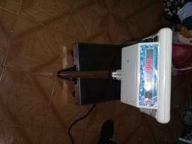Bascula electronica de piso 150 kl