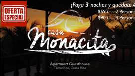 Casa Monacita Guests Apartments Playa Tamarindo