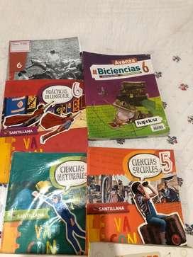 Libros escolares 4, 5 y 6 grados