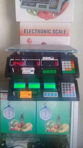 GRAMERA PESA DIGITAL ELECTRONICA DE 40 KG DIVISION DE 1 EN 1 GRAMOS NUEVA EN CAJA Y GARANTIA