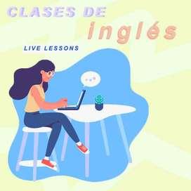 ¡CLASES DE INGLÉS!