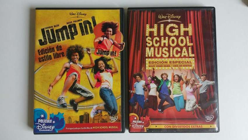 Lote Cds Jump In + High School Musical cdjess