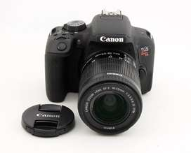 Canon T7i Kit Lente 18-55mm Stm Como nueva