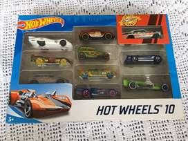 Hotwheels 10 autos coleccion Mattel Original