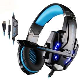 Audifono Gamer Kotion Each G9000 / PC / Laptop / Ps4 - Azul