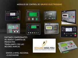 Grupos electrógenos, Repuestos , Módulos, Generadores