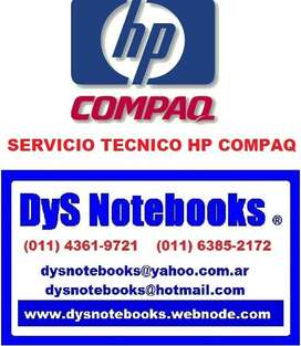 HP COMPAQ SERVICIO TECNICO NOTEBOOK y NETBOOK