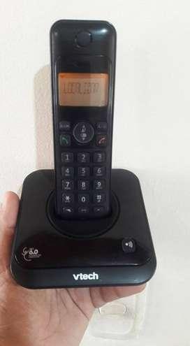 Vtech con altavoz e identificador de llamadas