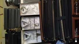 Urge remate de cortes de tela y camisas de caballero