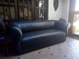 Sofa de 3 puestos y Potrona