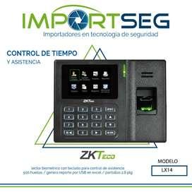 Reloj Biometrico Huella Clave Lx14 Control De Asistencia