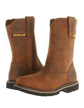 Botas CATERPILLAR Revolver Pull-On Steel-Toe. Full Cuero. Sku5