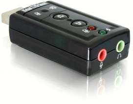 Tarjeta Adaptador De Audio Sonido Externa Usb 2.0 Pc 7.1