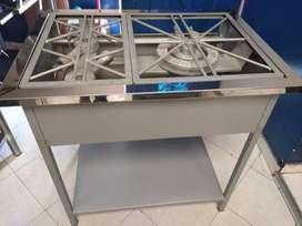 Estufa para negocio de comidas