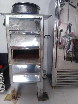 Se vende horno en acero inoxidable