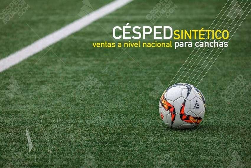 Césped Sintético Artificial Instalacion deportivo con protección climática