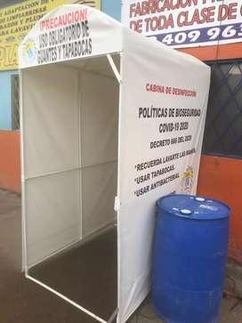 Venta de cabinas de desinfección