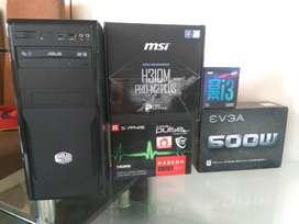 Pc Gamer Novena Generación I3 9100f Rx 550 Sapphire 8gb Ram
