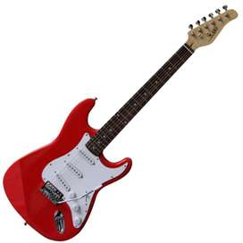 Guitarra I60 LAST32 Music Box Colombia electrica Stratocaster Rojo