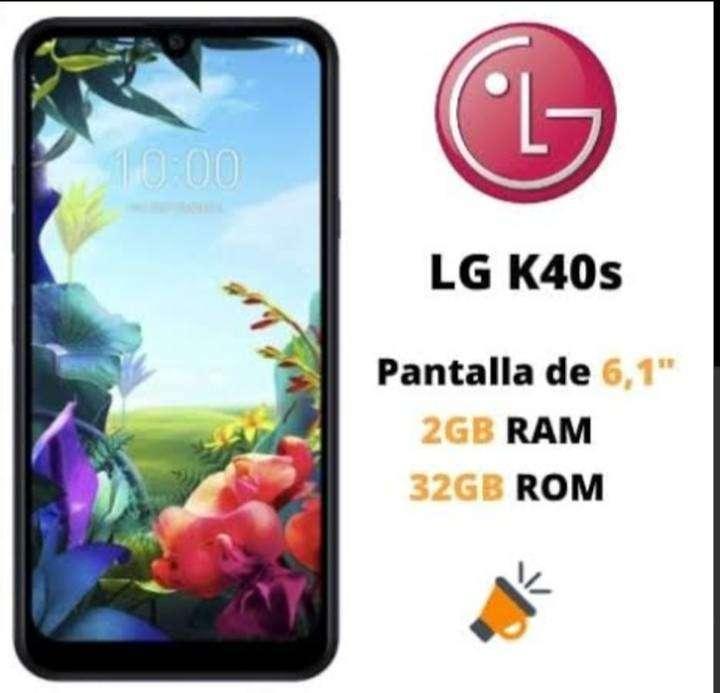 LG K40s 32gb/2gb Nuevo Sellado Garantia 0