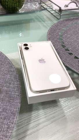 IPHONE 11 128 GB 10/10 garantia directa con apple