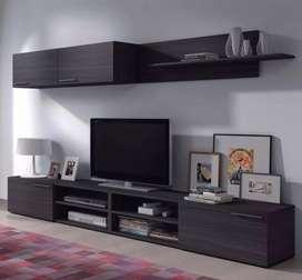 Rack Tv Modular Moderno  Minimalista