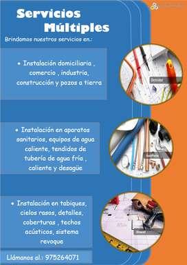 servicios electricos S.A